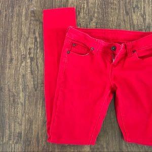 dELIA's Red Skinny Leg Jeans 🔥